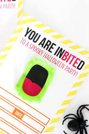 vampire teeth halloween invitations eighteen25