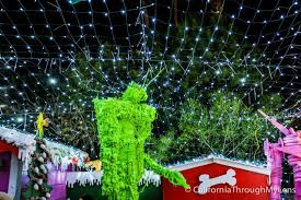 robolights in palm springs craziest christmas light display you