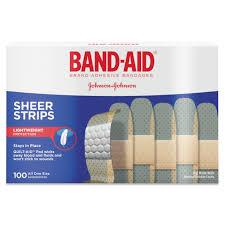 band aid brand skin flex adhesive bandages 25 count walmart com