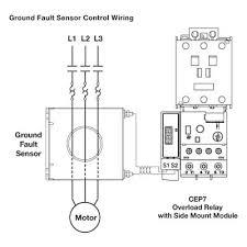 how a ground fault sensor works