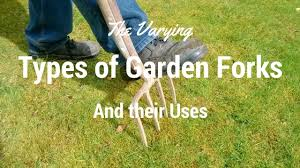 Types Of Garden Rakes - the varying types of garden forks and their uses