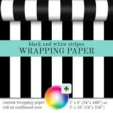 black gift wrapping paper roll gift wrap black and white stripes pattern custom wrapping paper