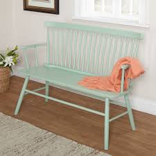 Bedroom Bench Chairs Featuring A Classic Spindle Back The Beautiful Shelby Bench