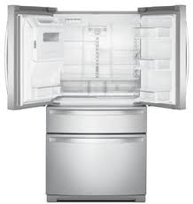 Whirlpool Inch French Door Refrigerator - whirlpool wrx986sihz 36 inch 4 door french door refrigerator with