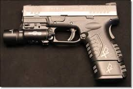 springfield xd tactical light 5 days of surefire win xd m compact 45acp and surefire x 300