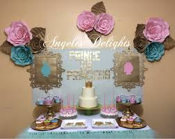 prince or princess gender reveal party ideas photo 4 of 8