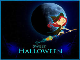 animated halloween desktop background cute free wallpaper and screensavers wallpapersafari