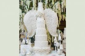 angel cake from 40 jaw dropping wedding cakes