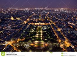 Beautiful Eiffel Tower by Famous And Beautiful Night View To Paris From The Eiffel Tower