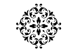 renaissance ornament stencil interiors to inspire