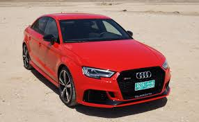 audi rs 3 sedan 2018 audi rs 3 sedan test drive auto reviews