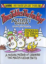 times tables the fun way online buy times tables the fun way activity book a picture method of
