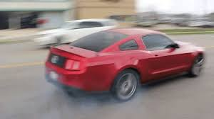 Black Mustang Crash Mustang Crashes Peeling Out Of Cars And Coffee For The Billionth Time