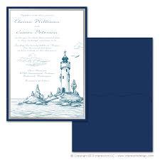invitation pocket lighthouse pocket invitations impress ink stationery design studio