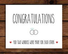 wedding gift card message engagement card humor congratulations card card for
