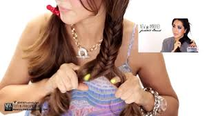Hairstyle For Medium Hair For Girls by 3 Easy Back To Hairstyles Cute Medium Long Hair Tutorial