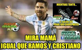 Memes De Lionel Messi - memes as祗 se burlan de lionel messi y argentina tras perder la