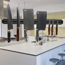 magnetic strips for kitchen knives 20cm wall magnetic strip utensil home bbq kitchen knife holder
