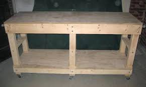 Tool Bench Plans Workbenchgarage Workbench Top Garage Tool Bench U2013 Venidami Us