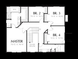 mascord house plan 2239k the chanticleer