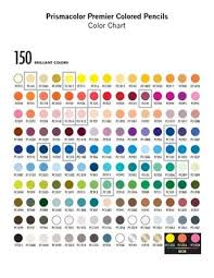 prismacolor pencils 150 56 best colored pencil swatches images on color charts