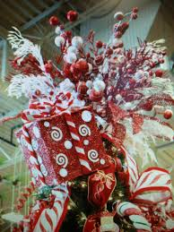 candy cane box christmas tree topper christmas pinterest