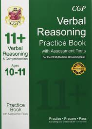 11 verbal reasoning practice book with assessment tests ages 10