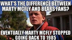 Da Bears Meme - difference between marty mcfly and da bears giggles pinterest