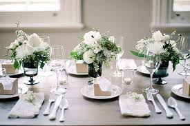 Wedding Table Themes Wedding Table Setting Simple Set Up At Home Weddings The Cottage
