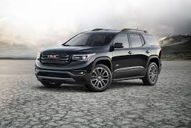 lifted gmc 2017 2017 gmc acadia launches with new engines reduced weight and