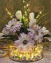 David Tutera Wedding Centerpieces by David Tutera Gold Wired 20 Led Warm White Lights Submersible