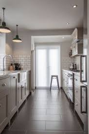 Gray Tile Kitchen Floor by Kitchen Design Ideas Pictures Remodels And Decor 24 1st Street