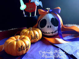 calligraphy katrina and maison du papier this is halloween