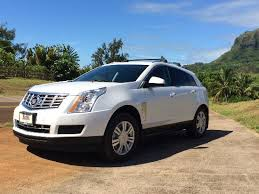 rate cadillac srx cadillac srx call for rental rates picture of experience kauai