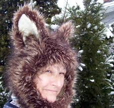 spirit halloween store adrian mi coyote fur hat furry wolf brown blonde black hood unisex