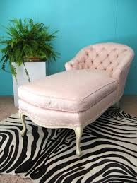 Vintage Chaise Lounge Fabulous French Pink Embroidered Silk Vintage Chaise Lounge Chair