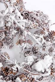 pine cone snowy 6ft