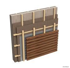 rivestimento facciate in legno facciate ventilate in legno idee di design per la casa