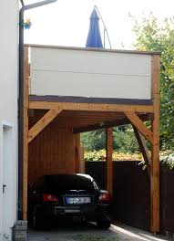 carport mit balkon zimmerei torsten krawczewicz