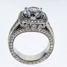 home design story diamonds dino lonzano vintage design engagement ring semi mount market