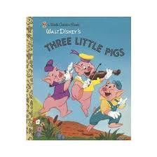three pigs golden books hardcover by golden