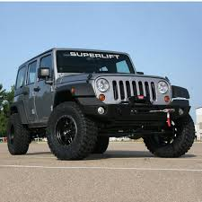 lifted jeep 2 door superlift suspension releases 2 5
