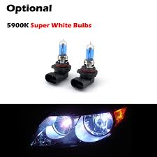 09 toyota 4runner replacement projector headlights black smoked