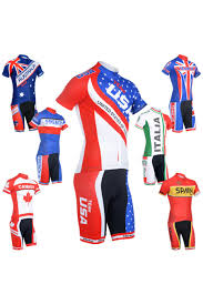 American Flag Suspenders Monton Cycling Jersey And Bib Shorts Set For Men Buy Cycling