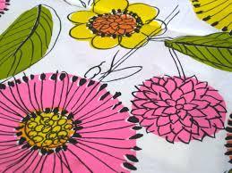 Flower Fabric Design 256 Best Vintage Fabrics Images On Pinterest Vintage Fabrics
