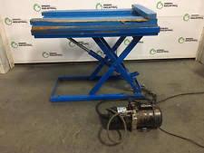 used electric lift table bishamon lx25 lift table 550 ebay