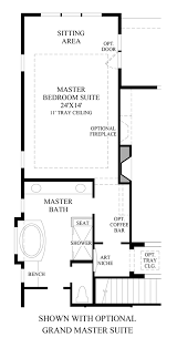 master suite floor plan anthem ranch by toll brothers the boulder collection the