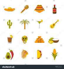 margarita clip art vector cartoon illustration mexico icon sombrero stock vector