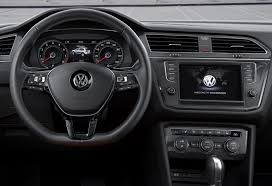 volkswagen minivan 2016 interior all new 2016 volkswagen tiguan gets compared to the old suv