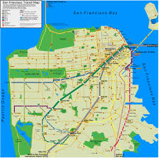 San Francisco City Map by San Francisco Transit Map Dannyman Toldme Com 2009 11 03 S U2026 Flickr